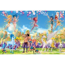 Schmidt Spiele Puzzle Mia and Me im Metallkoffer 2 x 60 Teile, 2 x 100 Teile