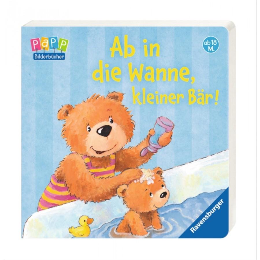 Ravensburger 43562 Ab in die Wanne, kleiner Bär!