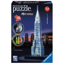Ravensburger 125951 Puzzle 3D Chrysler Build Night Edition 216 Teile