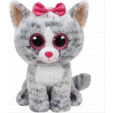 Ty Kiki Buddy-Katze grau, ca. 24 cm