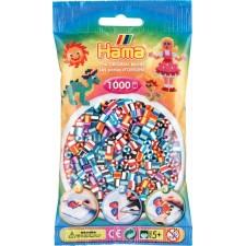 HAMA Bügelperlen Midi - gestreift Mix 1000 Perlen (6 Farben)