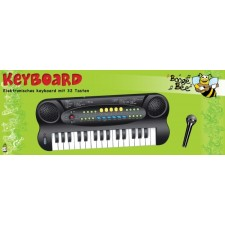 Boogie Bee Elektronisches Keyboard mit Mikrofon
