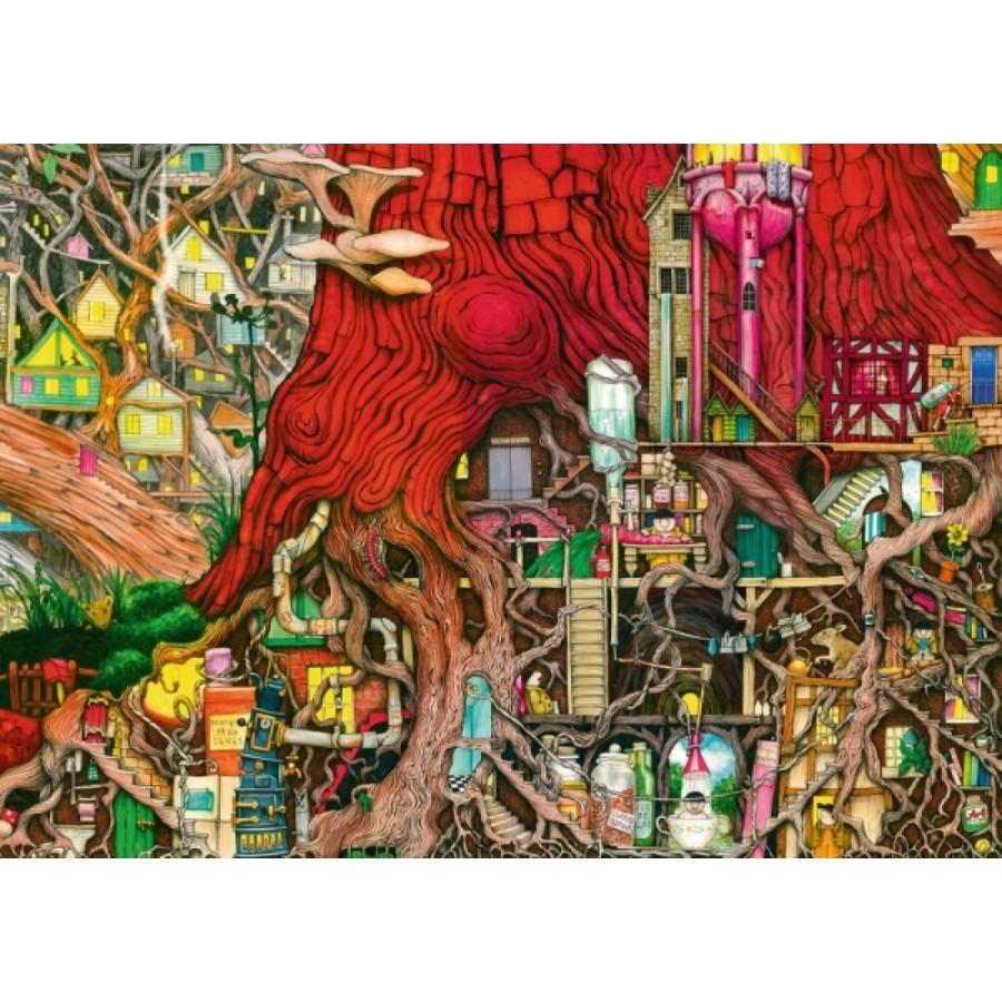 Ravensburger 196449 Puzzle: Verborgene Welt 1000 Teile
