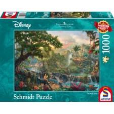 Schmidt Spiele Puzzle Thomas Kinkade Disney Das Dschungelbuch 1000 Teile