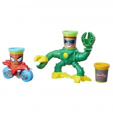Hasbro B9364EU4 Play-Doh Marvel Spiderman vs. Doc Ock