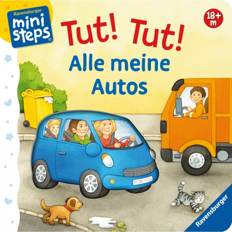 Ravensburger 040865 ministeps® Tut!Tut! Alle meine Autos