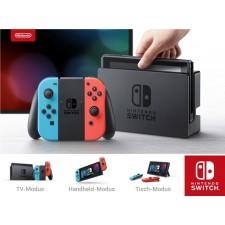 Nintendo Switch Konsole Neon-Rot/Neon-