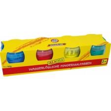 Creathek Fingerfarben 4er Pack á 150 g