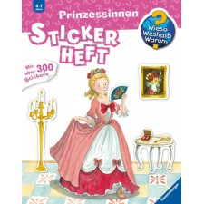 Ravensburger  - WiesoWeshalbWarum? Stickerheft: Prinzessinne