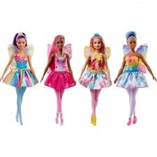 Mattel Barbie FJC84 Dreamtopia Fee sortiert