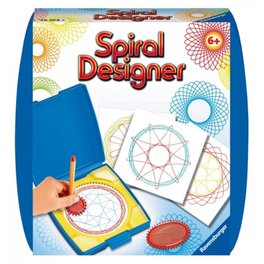 Ravensburger 297085 Mini Spiral Design.Blue