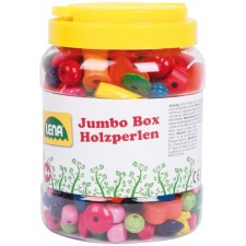 Jumbo Box Holzperlen