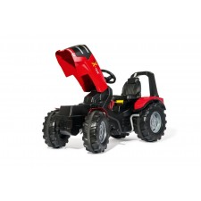 rollyToys X-Trac Premium mit Frontlader rot