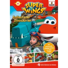 DV Super Wings 6: Dinosaurier