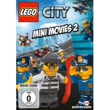 DVDS LEGO - City Mini Movies - DVD 2