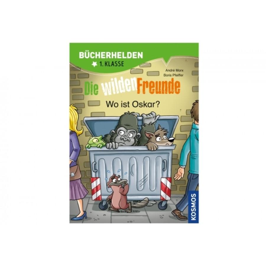 Kosmos Bücherhelden 1. Klasse: Wilde Freunde - Wo ist Oskar?
