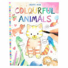 Depesche 8916 Create your Colourful Animals  Malbuch
