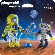 Duo Pack Astronaut und Roboter