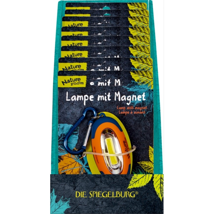 Coppenrath 14041 Lampe mit Magnet Nature Zoom