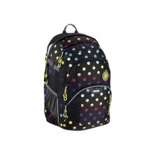 Coocazoo Schulrucksack JobJobber 2, Magic Polka Colorful