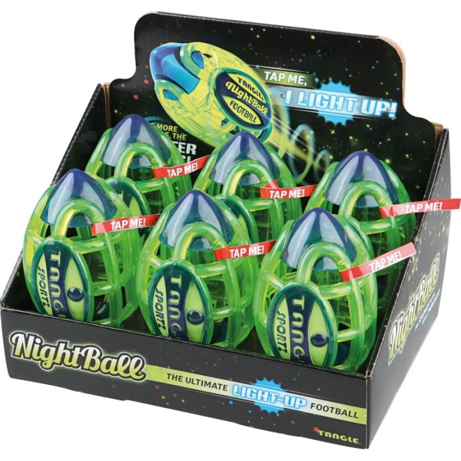Tangle Nightball Football Mini