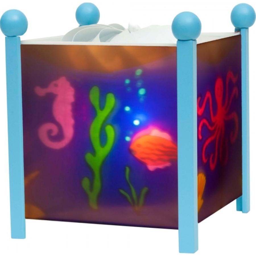 Magische Laterne Meer Blau 12V