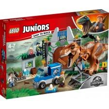 LEGO® Juniors 10758 Jurassic World? Ausbruch des T. rex, 150 Teile