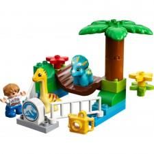 LEGO® DUPLO® 10879 Jurassic World? Dino-Streichelzoo, 24 Teile