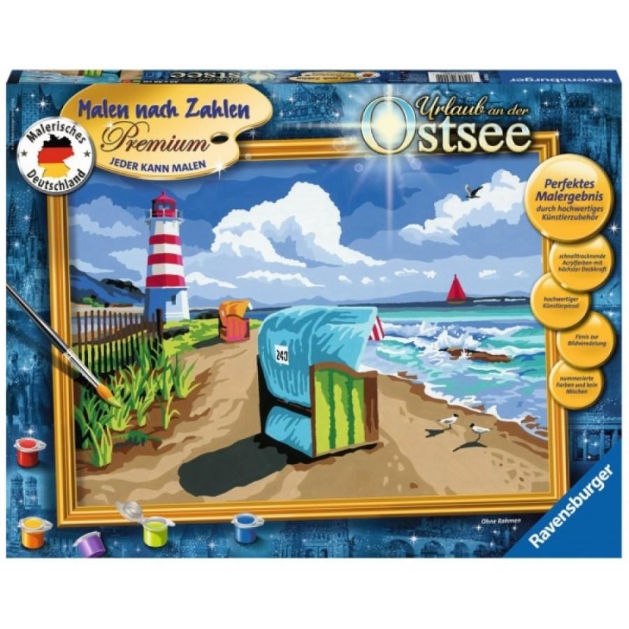 Ravensburger 289042 Malen nach Zahlen Serie Premium Urlaub auf Sylt D
