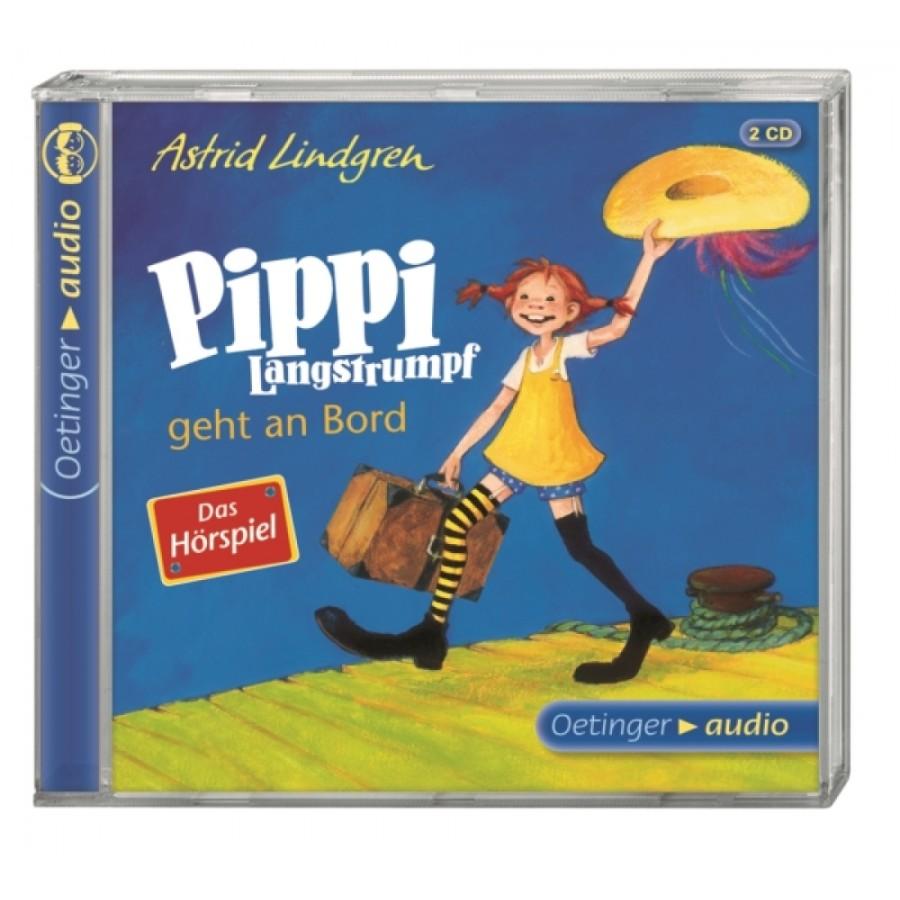 CD Lindgren, Pippi an Bord Hörsp. 2CD