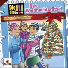 CD Drei !!!: Weihnachtsrätsel Adventskalender 2017