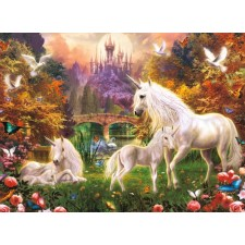 Ravensburger 141951  Puzzle Zauberhafte Einhörner 500 Teile
