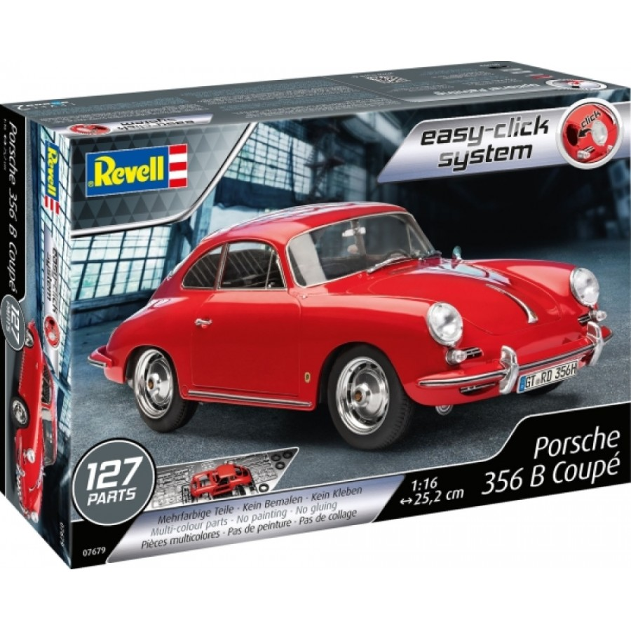 REVELL Easy-Click Porsche 356 Coupe