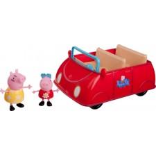 PEPPA grosses rotes Auto mit 2 Figuren