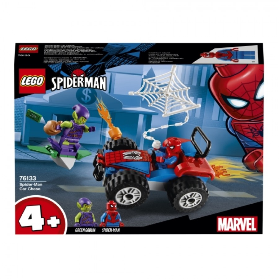 Spider-Man Verfolgungsjagd