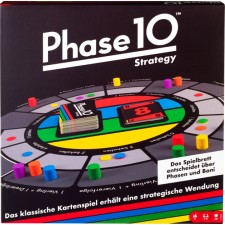 Mattel FTB29 Phase 10 Brettspiel