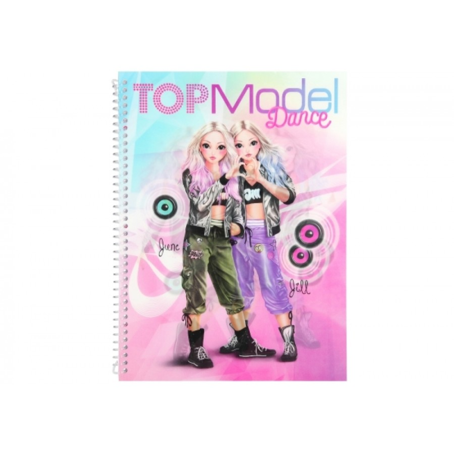 TOPModel DANCE Sticker + Desig