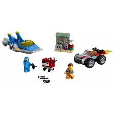 Lego Movie 2 Emmets u. Bennys Bau und Reparaturwerkstatt