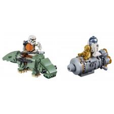 Star Wars Escape Pod vs. Dewback Micofighter