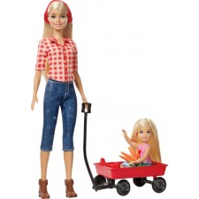 Barbie Farm Barbie + Chelsea Puppe