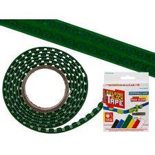 Baustein Tape 125x1,6cm zum Aufkleben grün LEGO kompatibel