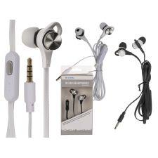 IN Ear Kopfhörer mit Mikrofon + ca.1.20m flachen Kabel