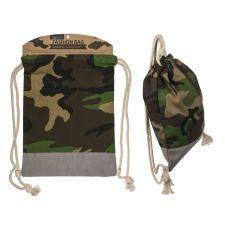 Fashion Beutel Camouflage grün/braun