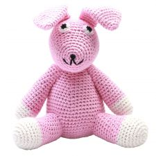 XL Teddy Bear - Miss Rabbit (light pink)