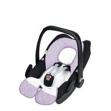Babycool-Schalensitz-Auflage silber
