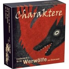 Asmodee Lui meme - Die Werwölfe von Düsterwald - Charaktere - Erweiterung