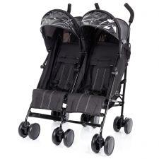 Zwillingswagen DUO schwarz