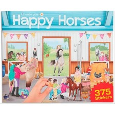 Create your Happy Horses - Stickerbuch