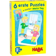 HABA 6 erste Puzzles _  Mein Tag