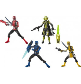 Hasbro E5915EU4 Power Rangers Basic 6 in Figures